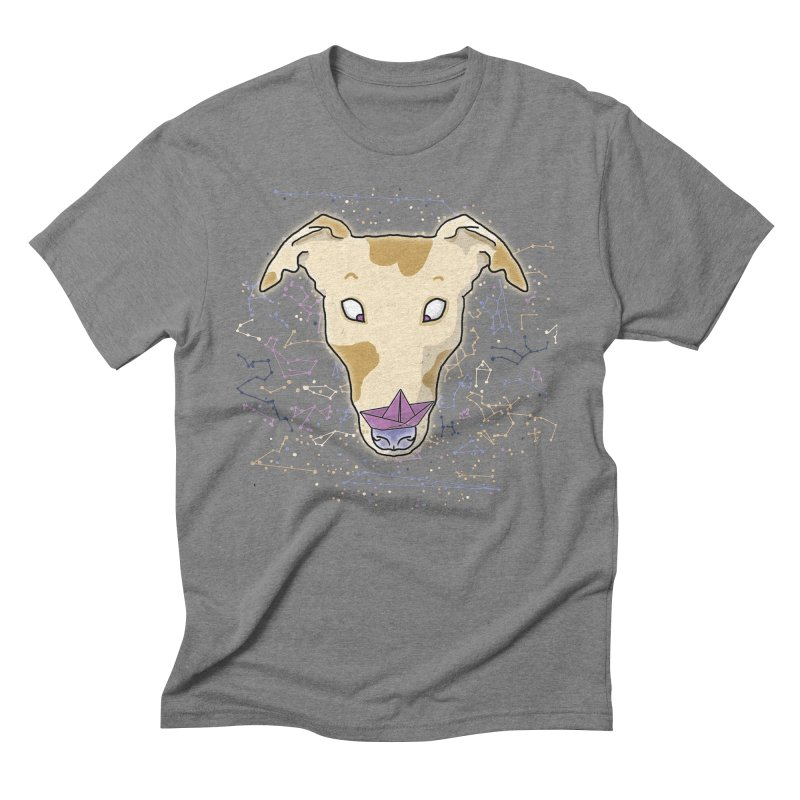 Space greyhound Men's Triblend T-Shirt by Tostoini