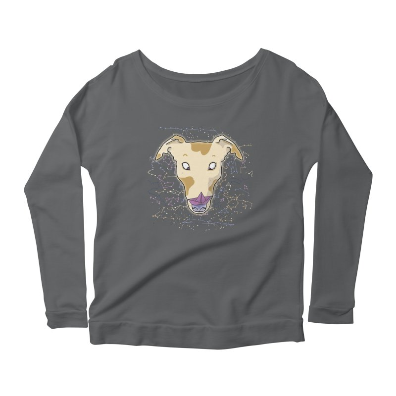 Space greyhound Women's Longsleeve T-Shirt by Tostoini