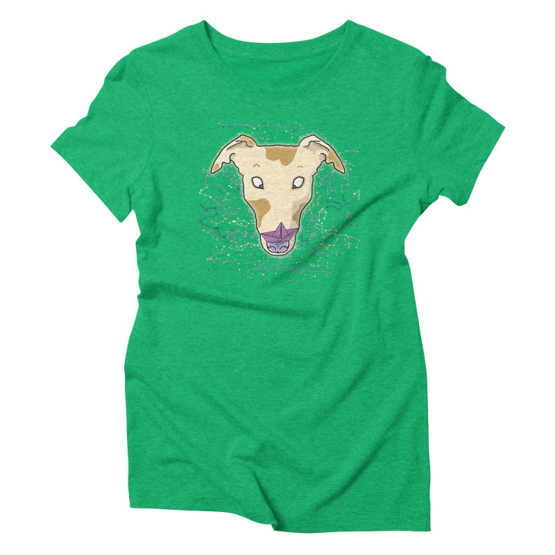 Space greyhound Women's Triblend T-Shirt by Tostoini