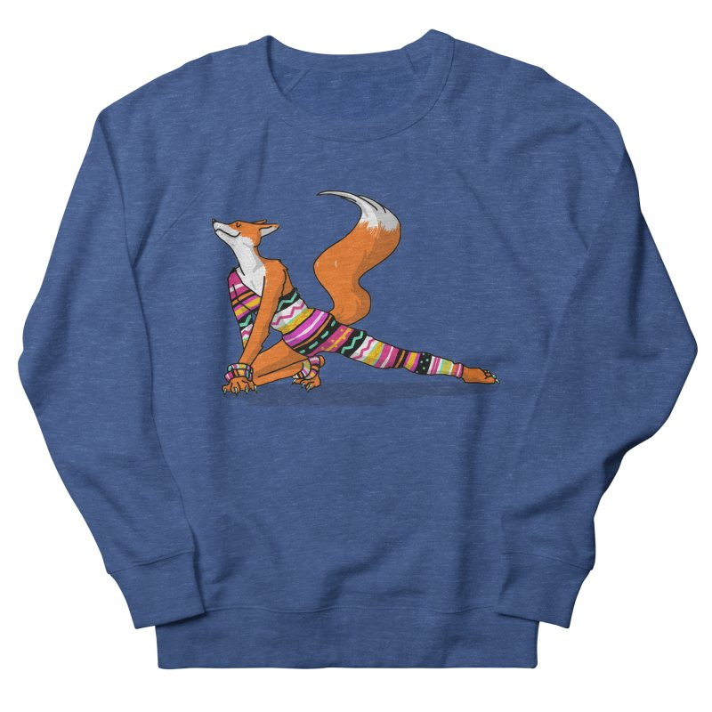 Let's dance! Dancing fox in David-bowie-inspired Eighties attire Women's French Terry Sweatshirt by Tostoini