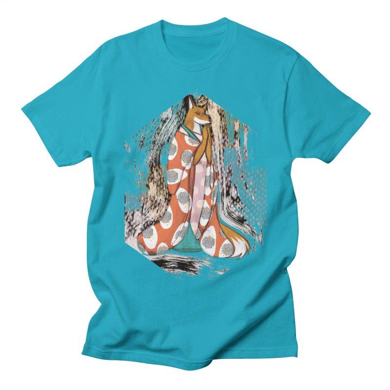 Madame Kitsune - fox illustration inspired by japanese folklore Women's Regular Unisex T-Shirt by Tostoini