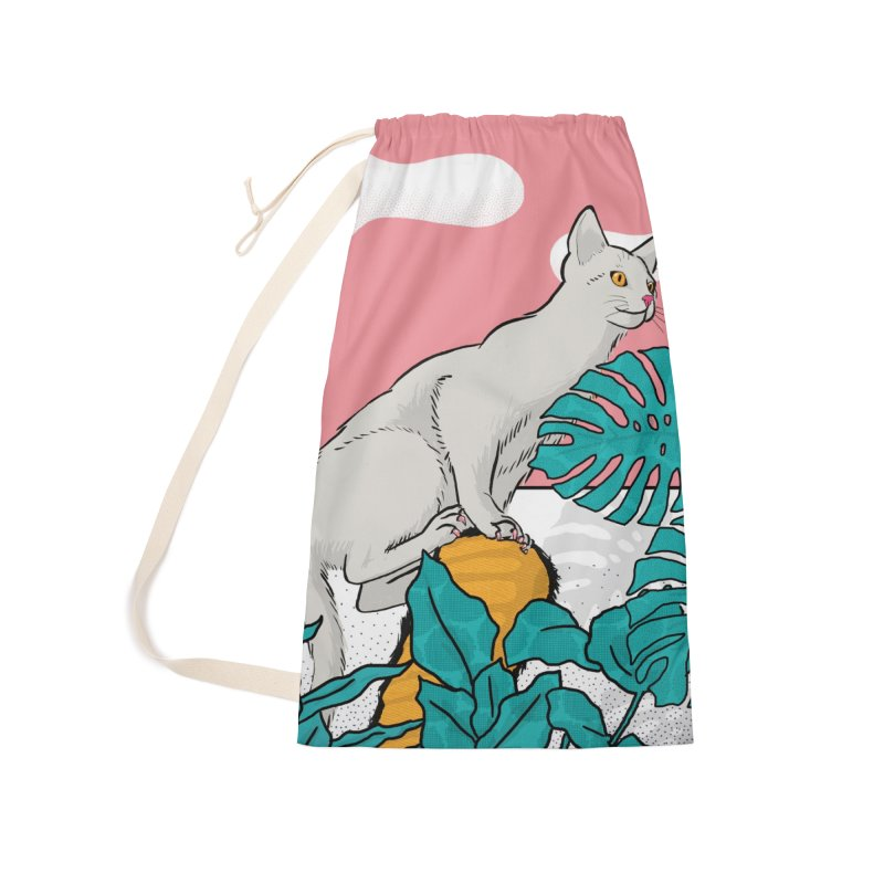 My cat the jungle explorer Accessories Bag by Tostoini