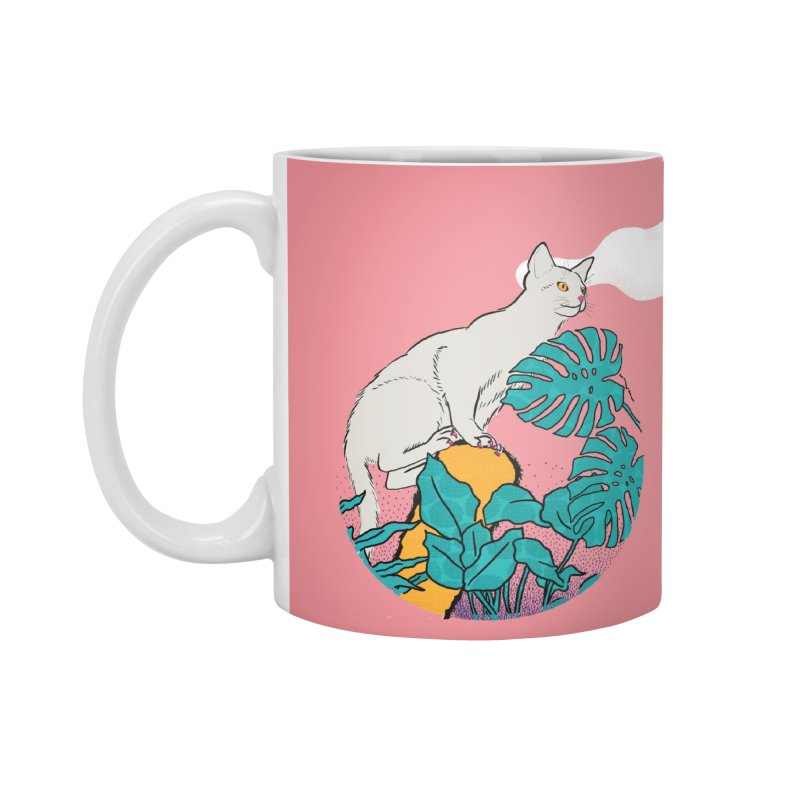 My cat the jungle explorer Accessories Standard Mug by Tostoini