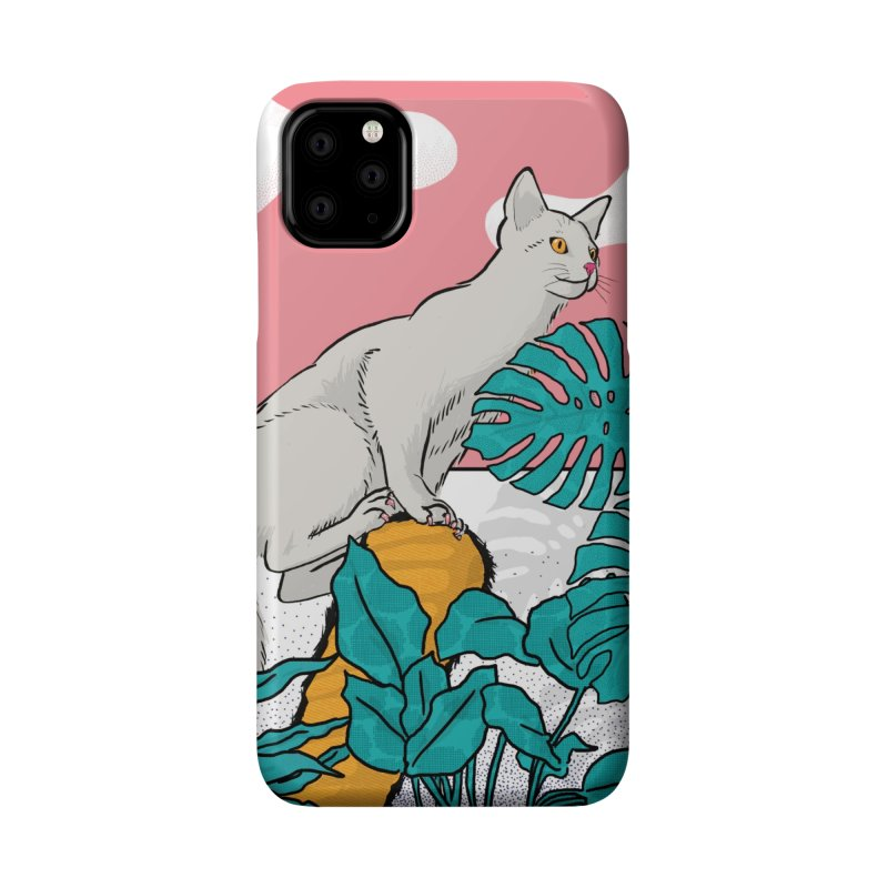 My cat the jungle explorer Accessories Phone Case by Tostoini