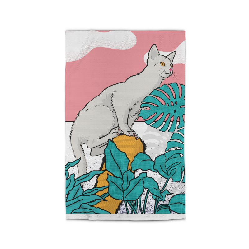 My cat the jungle explorer Home Rug by Tostoini
