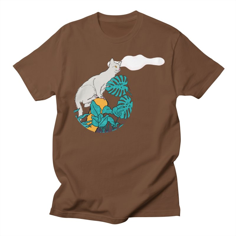 My cat the jungle explorer Women's Regular Unisex T-Shirt by Tostoini
