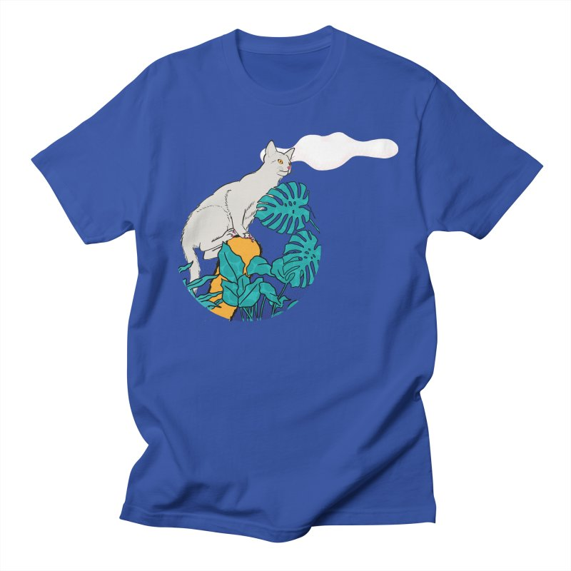 My cat the jungle explorer Women's Regular Unisex T-Shirt by Tostoini
