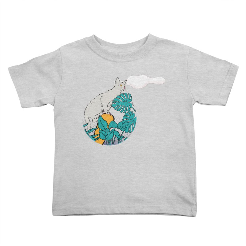 My cat the jungle explorer Kids Toddler T-Shirt by Tostoini