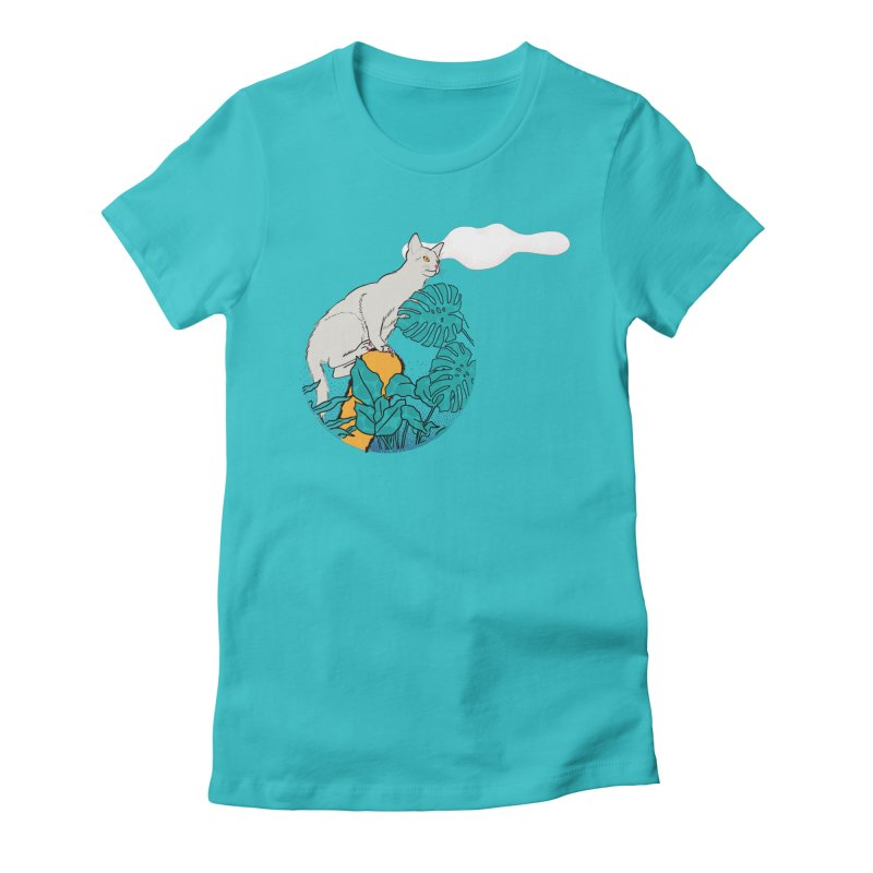 My cat the jungle explorer Women's T-Shirt by Tostoini