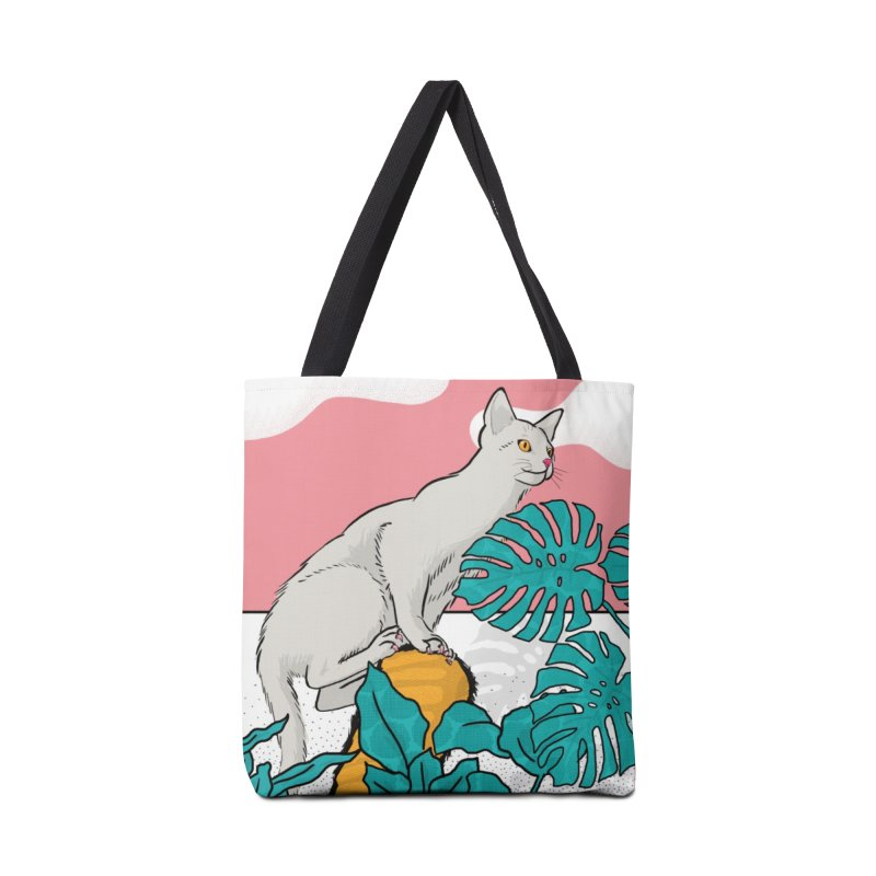 My cat the jungle explorer Accessories Tote Bag Bag by Tostoini