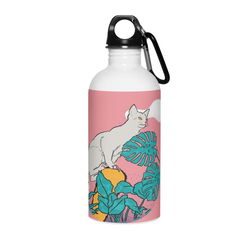 My cat the jungle explorer Accessories Water Bottle by Tostoini