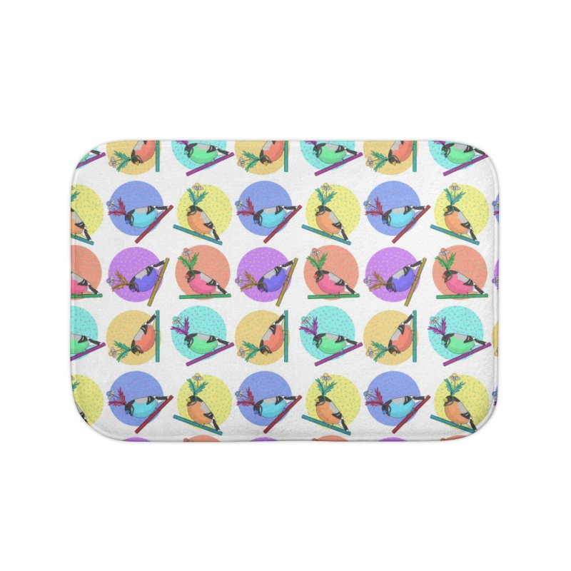 Birds of a feather nest together Home Bath Mat by Tostoini