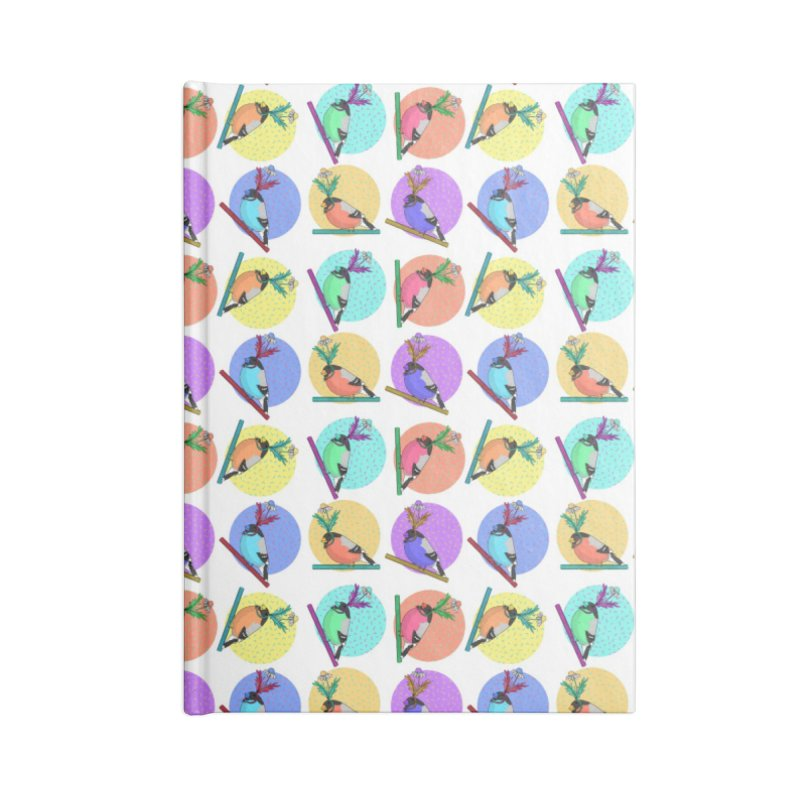 Birds of a feather nest together Accessories Lined Journal Notebook by Tostoini
