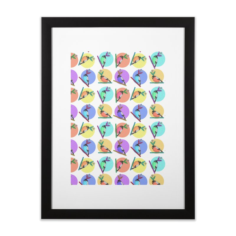 Birds of a feather nest together Home Framed Fine Art Print by Tostoini