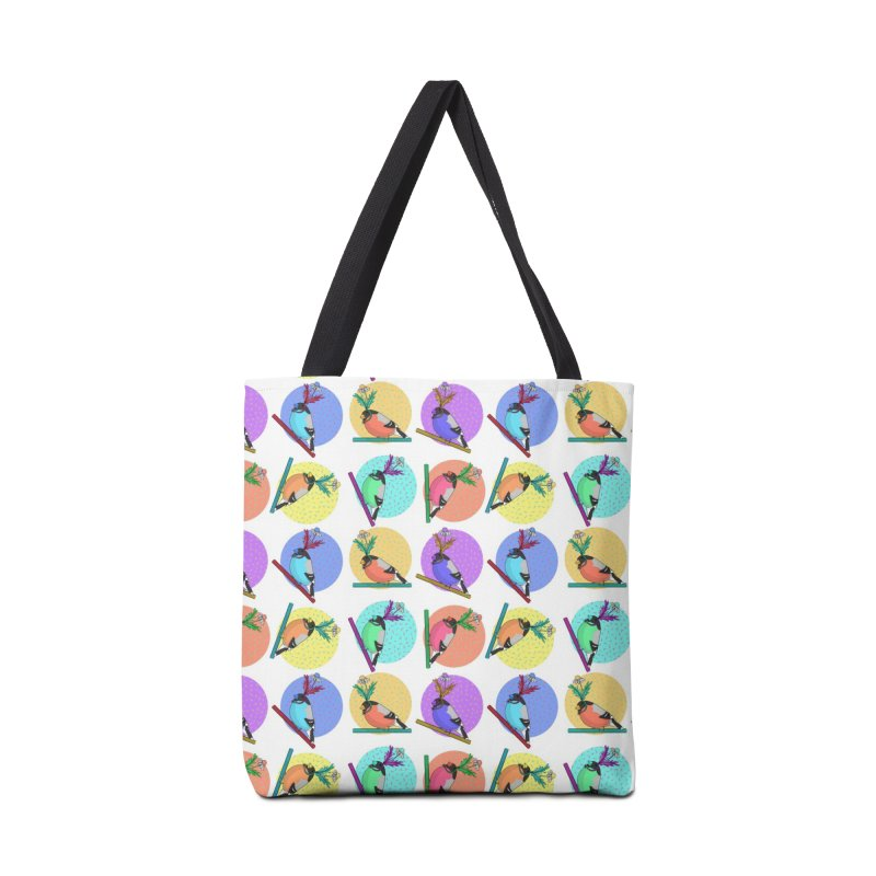 Birds of a feather nest together Accessories Bag by Tostoini