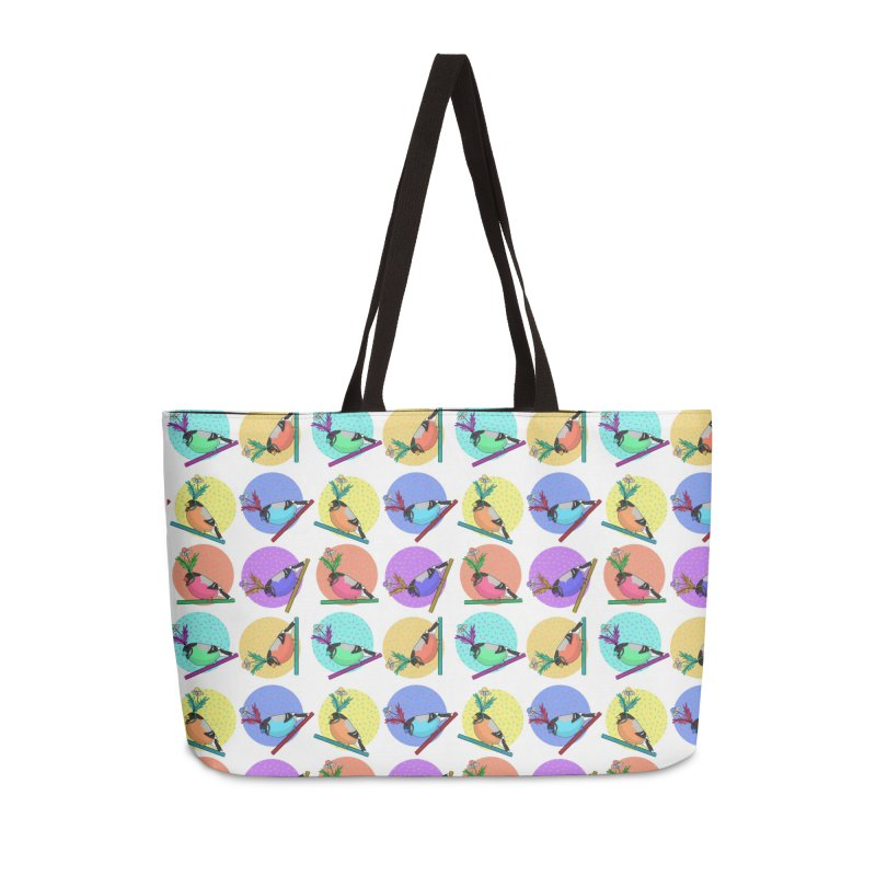 Birds of a feather nest together Accessories Weekender Bag Bag by Tostoini