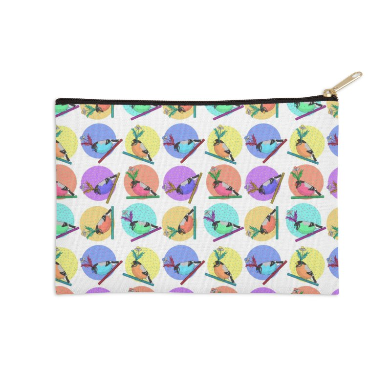 Birds of a feather nest together Accessories Zip Pouch by Tostoini