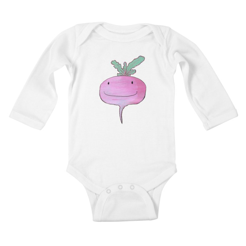 You're so rad(ish)! Kids Baby Longsleeve Bodysuit by Tostoini