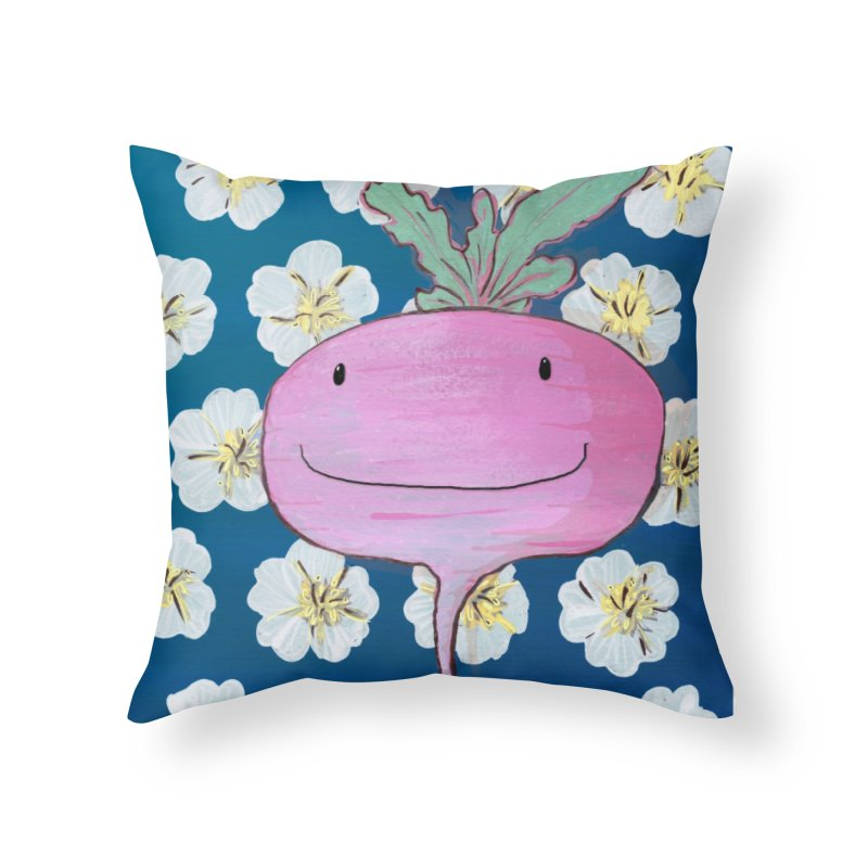 You're so rad(ish)! Home Throw Pillow by Tostoini