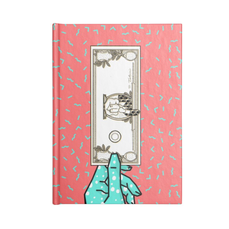The color of money Accessories Lined Journal Notebook by Tostoini