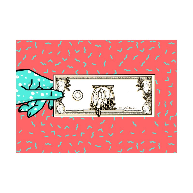 The color of money Accessories Zip Pouch by Tostoini