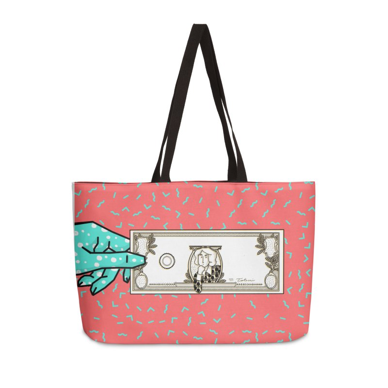 The color of money Accessories Weekender Bag Bag by Tostoini