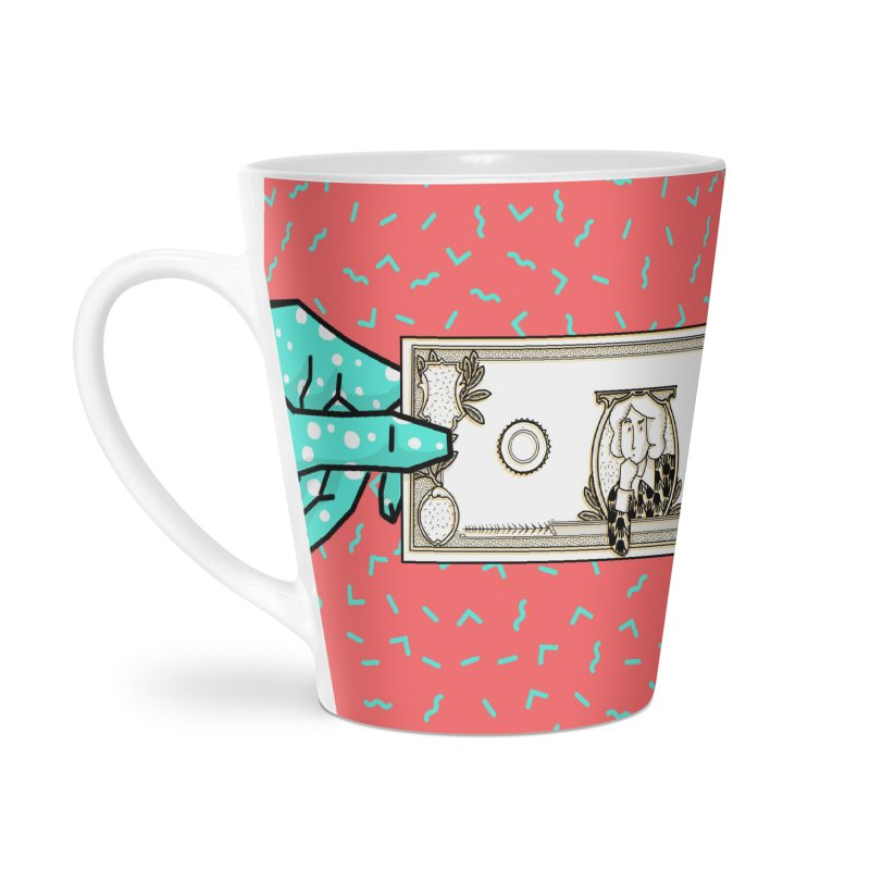 The color of money Accessories Latte Mug by Tostoini