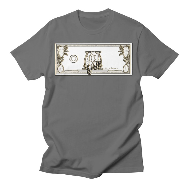 The color of money Men's T-Shirt by Tostoini