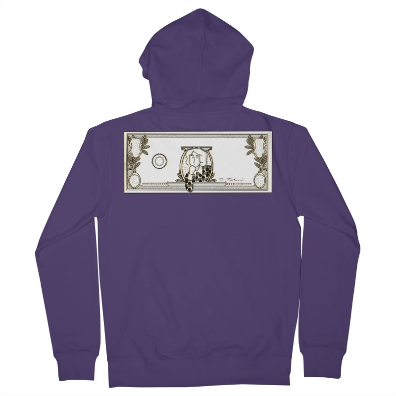 The color of money Women's French Terry Zip-Up Hoody by Tostoini
