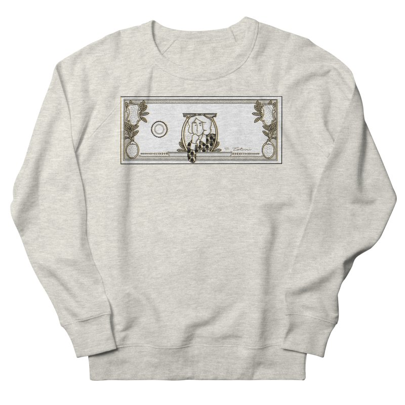 The color of money Women's French Terry Sweatshirt by Tostoini