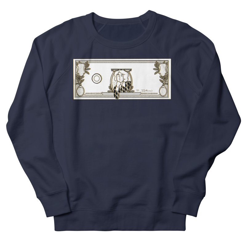 The color of money Men's French Terry Sweatshirt by Tostoini