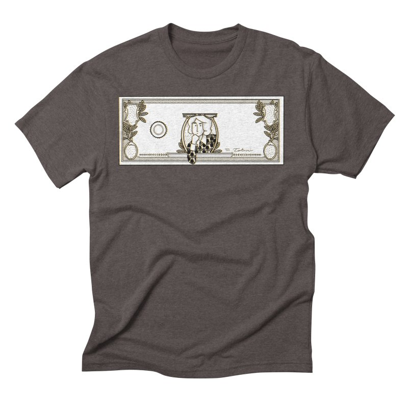 The color of money Men's Triblend T-Shirt by Tostoini