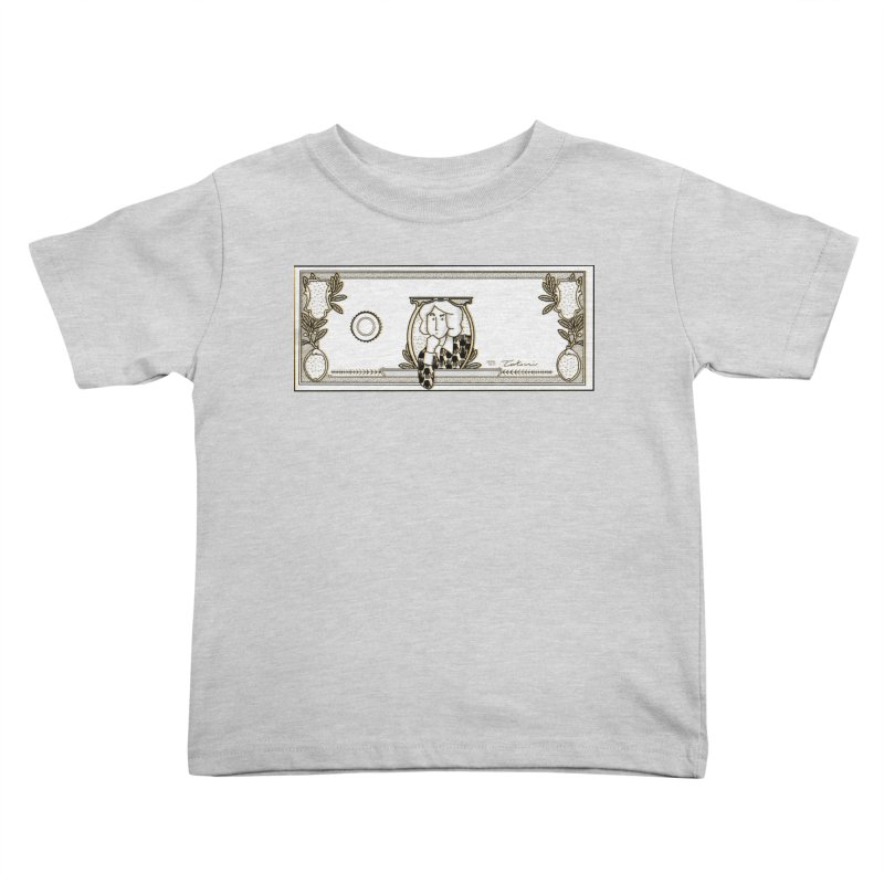 The color of money Kids Toddler T-Shirt by Tostoini
