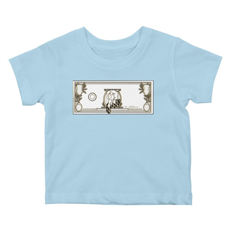 The color of money Kids Baby T-Shirt by Tostoini