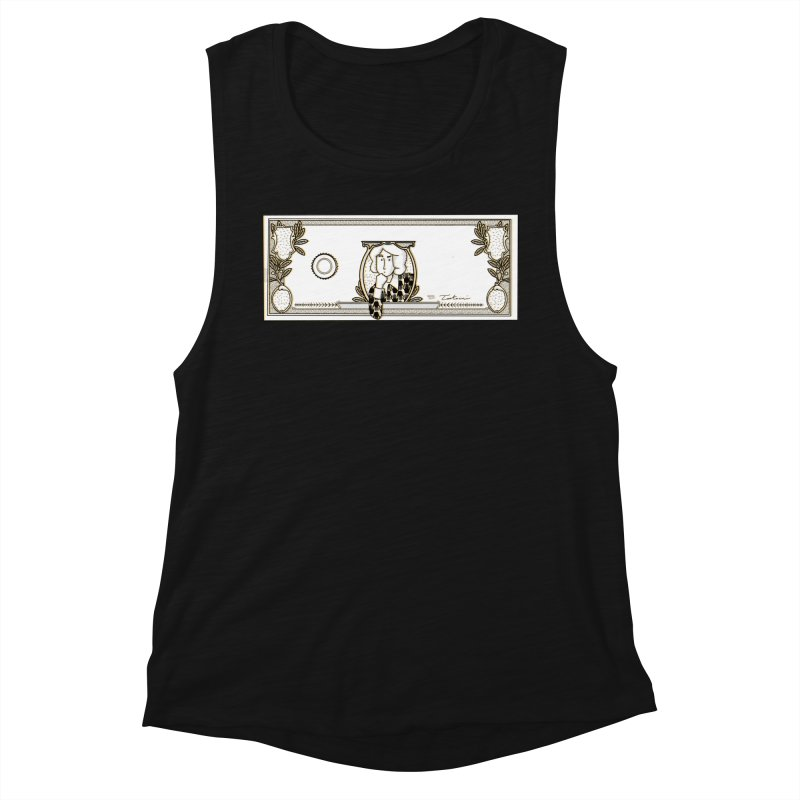 The color of money Women's Tank by Tostoini