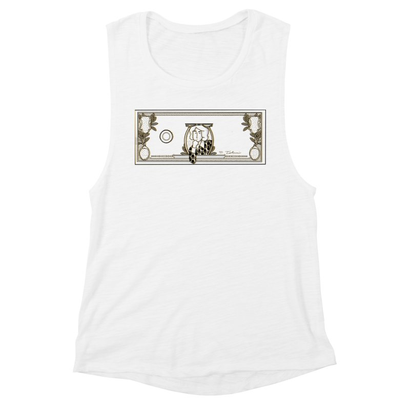 The color of money Women's Muscle Tank by Tostoini