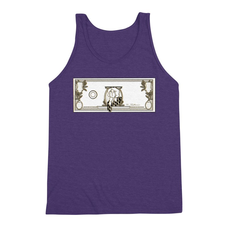 The color of money Men's Triblend Tank by Tostoini
