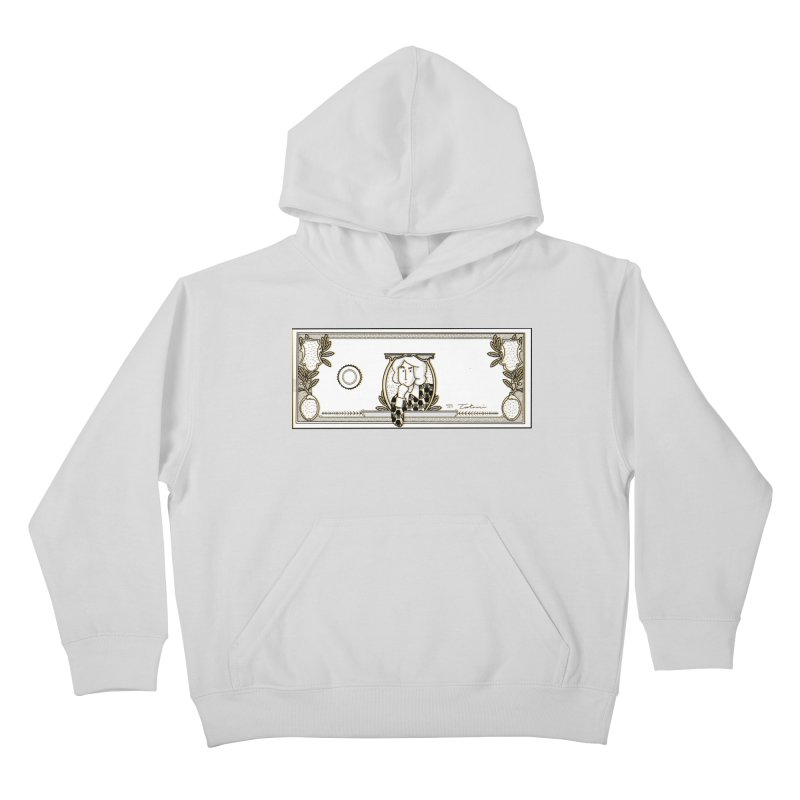 The color of money Kids Pullover Hoody by Tostoini