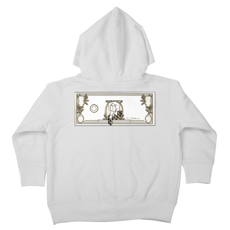 The color of money Kids Toddler Zip-Up Hoody by Tostoini