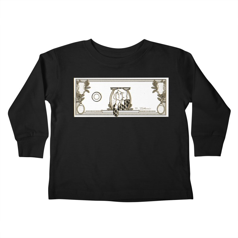 The color of money Kids Toddler Longsleeve T-Shirt by Tostoini