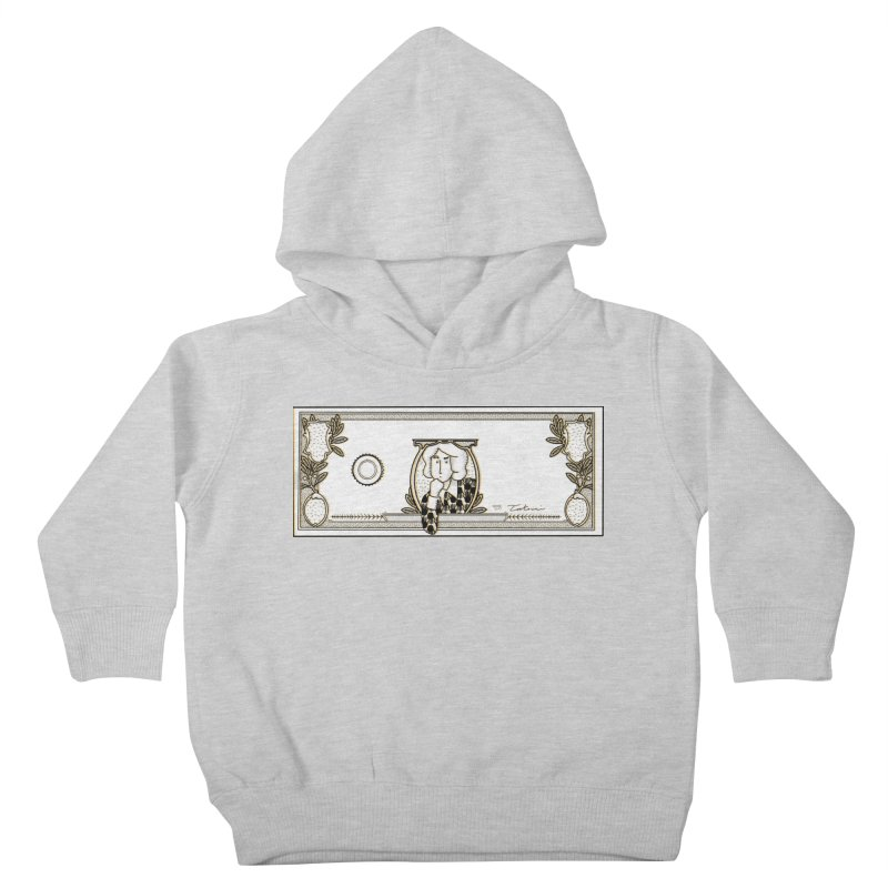 The color of money Kids Toddler Pullover Hoody by Tostoini