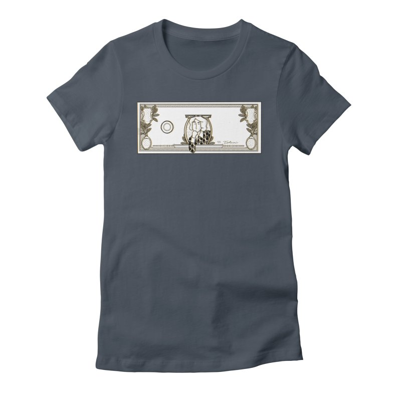 The color of money Women's T-Shirt by Tostoini