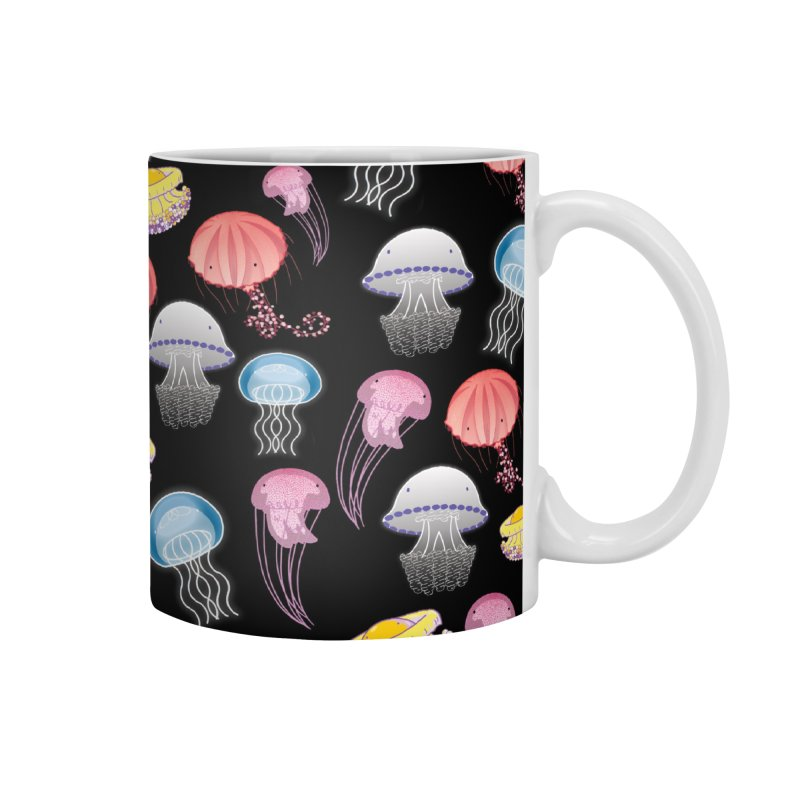 Jellyfishes of the Mediterranean Sea Accessories Mug by Tostoini