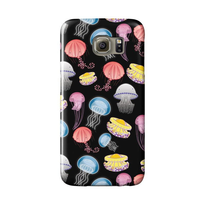 Jellyfishes of the Mediterranean Sea Accessories Phone Case by Tostoini