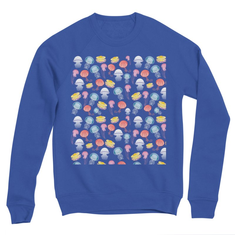 Jellyfishes of the Mediterranean Sea Women's Sweatshirt by Tostoini