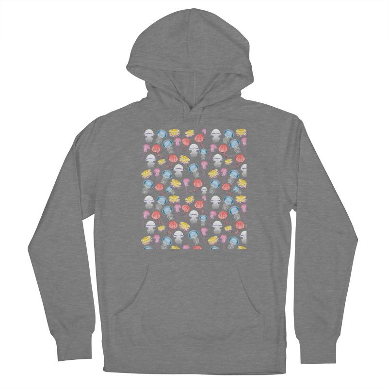 Jellyfishes of the Mediterranean Sea Women's Pullover Hoody by Tostoini