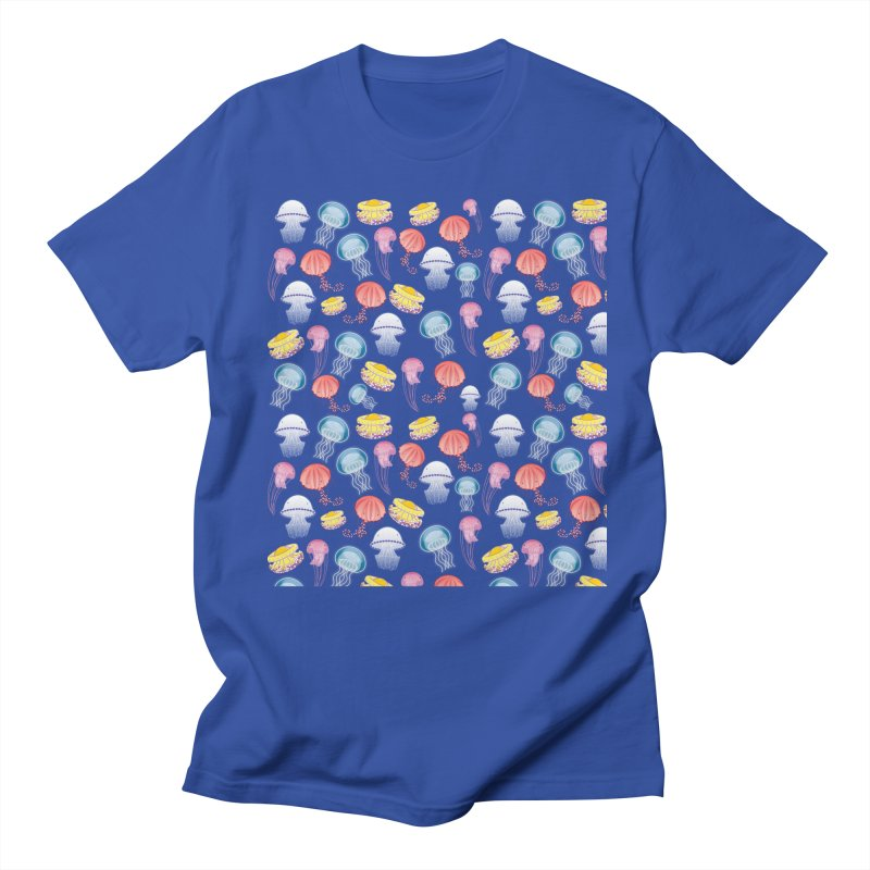 Jellyfishes of the Mediterranean Sea Men's T-Shirt by Tostoini