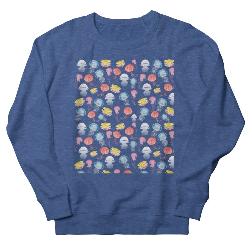 Jellyfishes of the Mediterranean Sea Women's French Terry Sweatshirt by Tostoini
