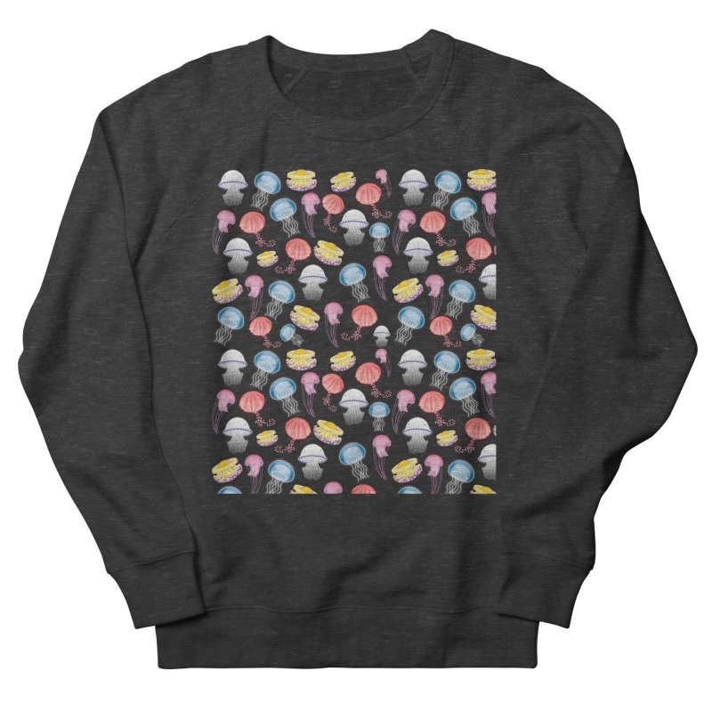 Jellyfishes of the Mediterranean Sea Men's French Terry Sweatshirt by Tostoini