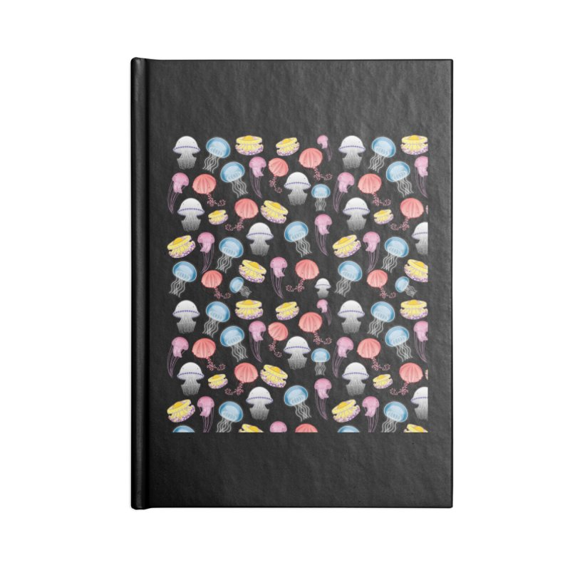 Jellyfishes of the Mediterranean Sea Accessories Notebook by Tostoini